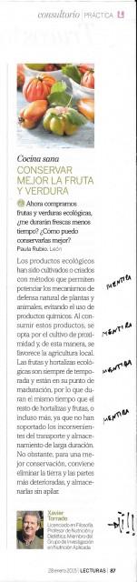product ecol en LECTURAS 28ene15