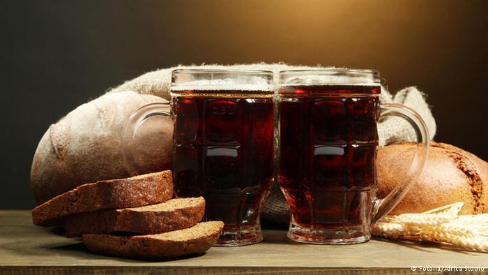 Resultado de imagen de cerveza y pan