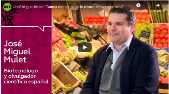 Alimentos naturales (o no) en RT