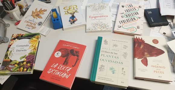 8 libros de biología que he leído este año.